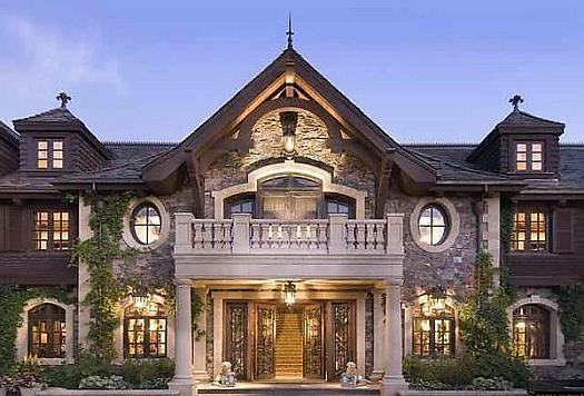 Самые дорогие дома. Центральная часть дома Джоула Хоровица.
