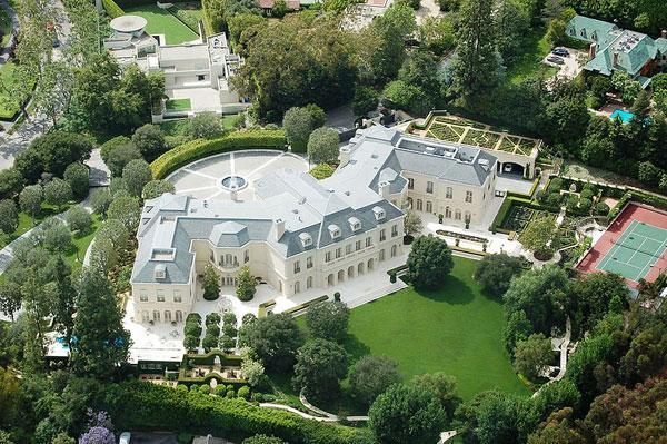 Самые дорогие дома. Дом Арона Спеллинга.