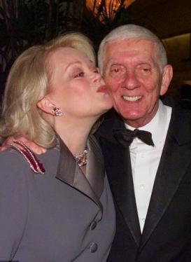 Арон Спеллинг с женой