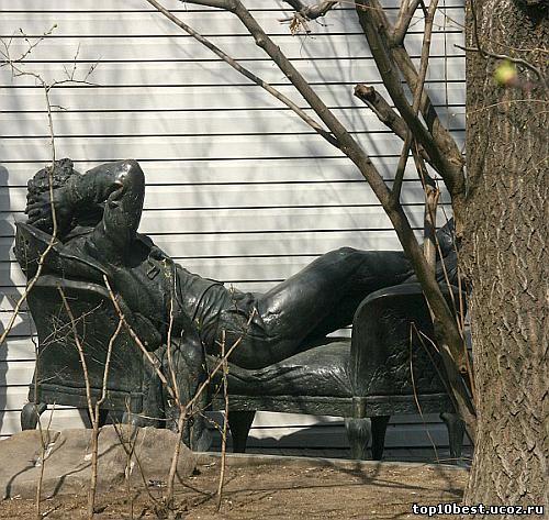 Monumentul lui Pușkin.