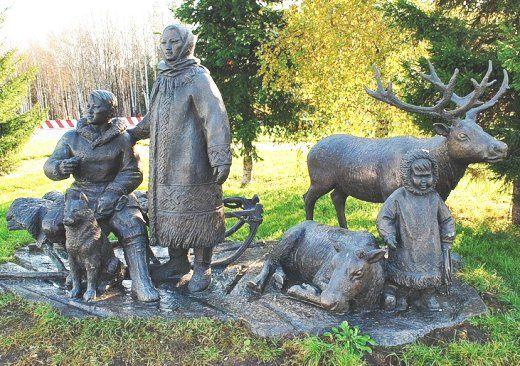 Памятник народам Западной Сибири