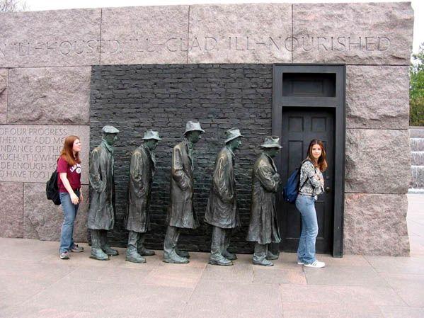 Памятник очереди