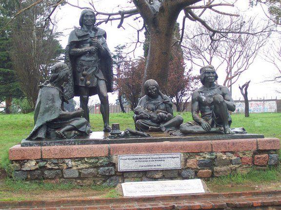 памятник индейцам чаруа