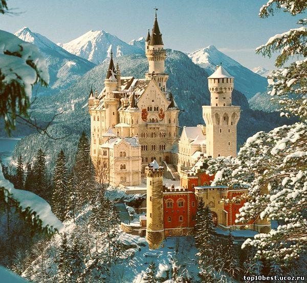 Сказочный Замок Нойшванштайн.