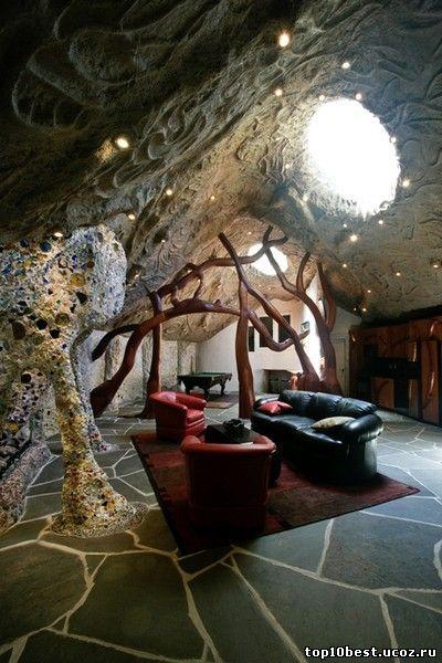 внутри дома гриба
