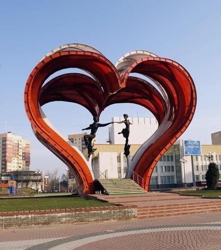 Сердца влюблённых