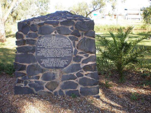 Памятник моли в австралии в январе 1788