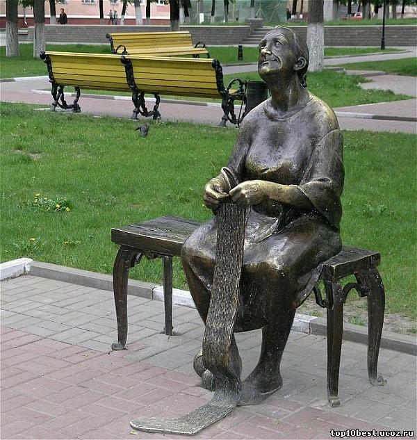 Памятник бабушке.
